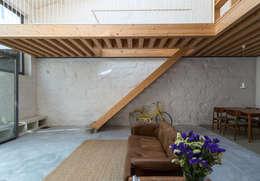 a*l - alexandre loureiro arquitectos: minimal tarz tarz Koridor, Hol & Merdivenler