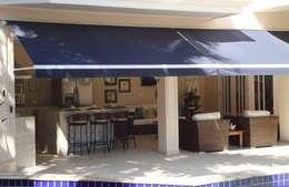 Garage/Rimessa in stile in stile Moderno di Studio 262 - arquitetura interiores paisagismo