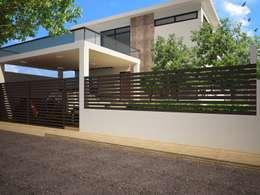 Casas de estilo minimalista por Ecourbanismo