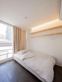Projekty,  Sypialnia zaprojektowane przez Design Guild