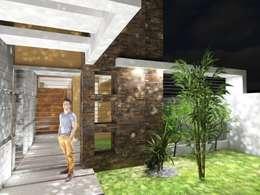 Casas de estilo moderno por Gastón Blanco Arquitecto
