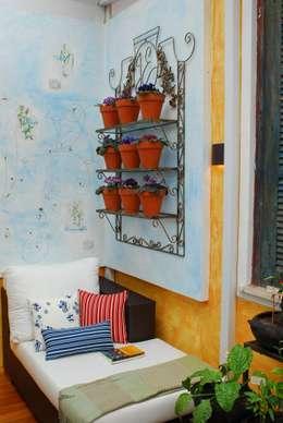 Paisajismo de interiores de estilo  por Adriana Baccari Projetos de Interiores