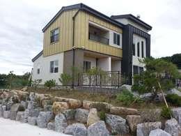 Дома в . Автор – Timber house