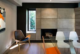modern Dining room by KUBE Architecture