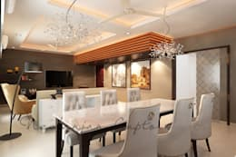 Dining area: classic Dining room by Neelanjan Gupto Design Co
