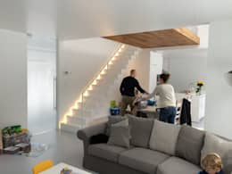 minimalistische Eetkamer door Niko Wauters architecten bvba