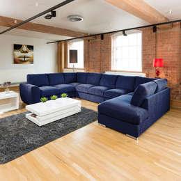 modern Living room by Quatropi ltd