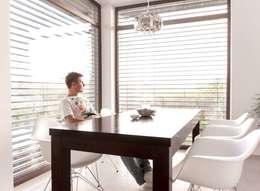 HOUSE 3: styl , w kategorii Jadalnia zaprojektowany przez Luxon Modern Design Łukasz Szadujko