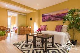 Espai Interior Home Staging: modern tarz Oturma Odası