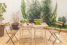 Espai Interior Home Staging: akdeniz tarzı tarz Bahçe