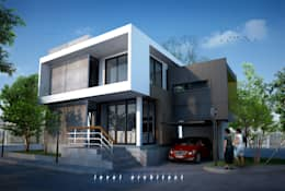 modern Houses by LEVEL ARCHITECT