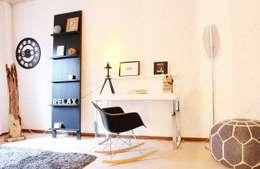 modern Study/office by Nicole Schütz Home Staging
