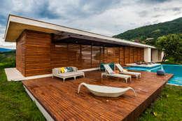 Vista General: Casas de estilo moderno por Arquitectura en Estudio