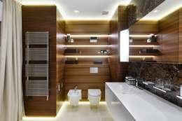 حمام تنفيذ Студия дизайна интерьера в Москве 'Юдин и Новиков'
