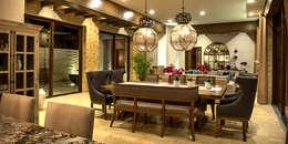 Comedor: Salas de estilo mediterraneo por INTERPRIKA