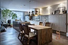 Cocinas de estilo rústico por silvana albuquerque arquitetura e design