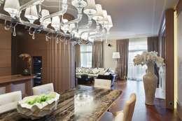 غرفة السفرة تنفيذ Студия дизайна интерьера в Москве 'Юдин и Новиков'