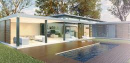 Bach Village - Monaghan Farm: modern Pool by REIS
