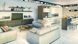 Bach Village - Monaghan Farm: modern Living room by REIS