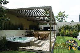 Giardino in stile in stile Eclettico di Diseño e Interiorismo