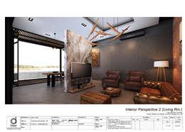 Living room:   by บริษัท ดิปเปอร์ อาร์คิเทค ดีไซน์ จำกัด