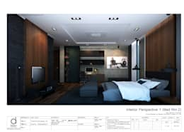 Bed room:   by บริษัท ดิปเปอร์ อาร์คิเทค ดีไซน์ จำกัด