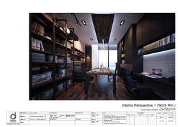 Working room:   by บริษัท ดิปเปอร์ อาร์คิเทค ดีไซน์ จำกัด