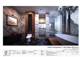 Water closet:   by บริษัท ดิปเปอร์ อาร์คิเทค ดีไซน์ จำกัด