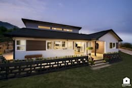 modern Houses by 친친디 하우스 프로젝트