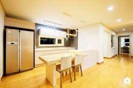 modern Kitchen by 친친디 하우스 프로젝트