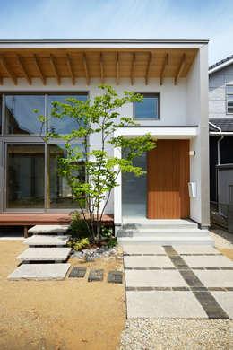 走廊 & 玄關 by スタジオグラッペリ 1級建築士事務所 / studio grappelli architecture office