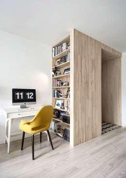 Интерьер AV: Рабочие кабинеты в . Автор – INT2architecture