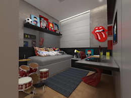 Cuartos infantiles de estilo moderno por Impelizieri Arquitetura