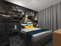 Dormitorios de estilo moderno por Impelizieri Arquitetura