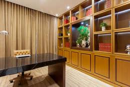 Estudios y oficinas de estilo moderno por Designer de Interiores e Paisagista Iara Kílaris