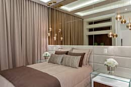 Recámaras de estilo moderno por Designer de Interiores e Paisagista Iara Kílaris