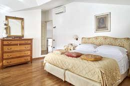 غرفة نوم تنفيذ Studio di architettura wirzarchitetti
