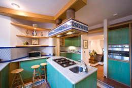 مطبخ تنفيذ Studio di architettura wirzarchitetti