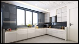 3D Designs By Mirva Vora Designs.: classic Kitchen by Mirva Vora Designs
