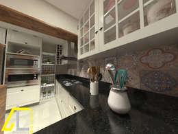 Nhà bếp by Ana Coutinho Arquitetura
