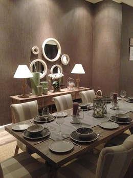 Clarens Mountain Estate : modern Dining room by Katie Allen Decor & Design/Urban Yuppi