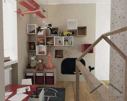 Dormitorios infantiles de estilo escandinavo por ZIN Studio