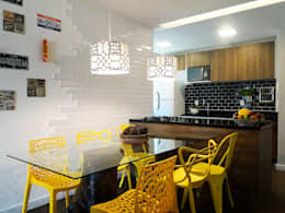Cocinas de estilo moderno por Priscila Boldrini Design e Arquitetura