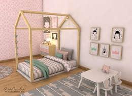 Habitaciones para niños de estilo escandinavo por Ana Rocha