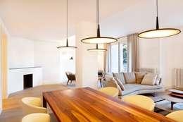Soggiorno in stile in stile Moderno di 02_BASSO Arquitectos