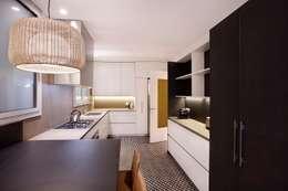 Cucina in stile in stile Moderno di 02_BASSO Arquitectos