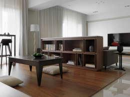 l 河岸邊邊 l:  書房/辦公室 by 賀澤室內設計 HOZO_interior_design
