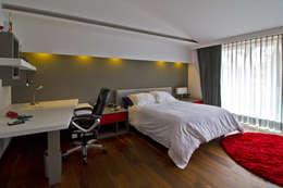 modern Bedroom by DIN Interiorismo