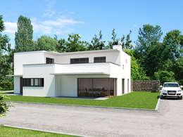 moderne Huizen door Carsten Krafft Die Architektur