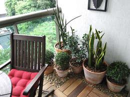 rustic Garden by Priscila Boldrini Design e Arquitetura